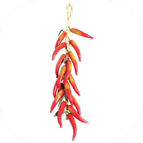 Artificial Hanging Red Chilli 50 cm